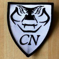 CN Wappen Stoffaufnäher