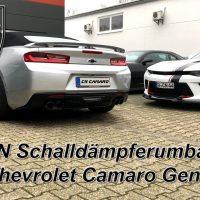 CN Schalldämpferumbau Gen.6